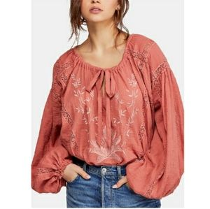 Maria lace blouse free people